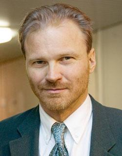 Vartijan päätoimittaja Matti Myllykoski. Kuva: Matti Myllykoski.