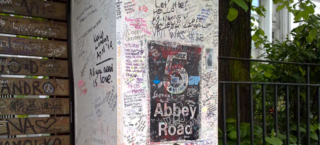 Abbey Roadin studio.