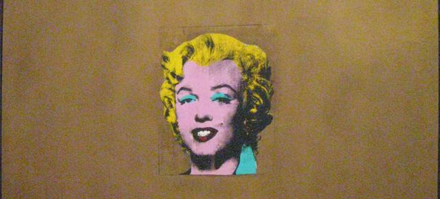 Andy Warholin teos Golden Marilyn Monroe, 1962. Kuva: Tuomas Vaura