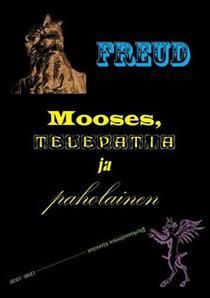 Mooses, telepatia ja paholainen -teoksen kansi.