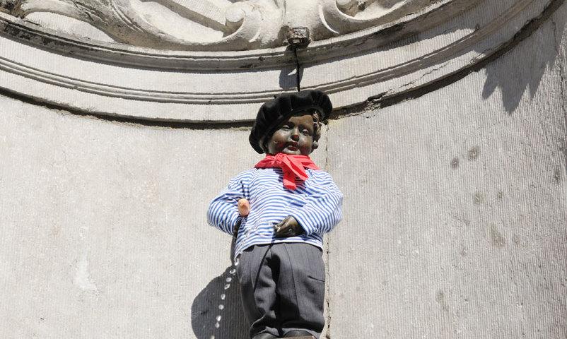 Manneken Pis -patsas Brysselissä. Kuva: sealine/iStockphoto