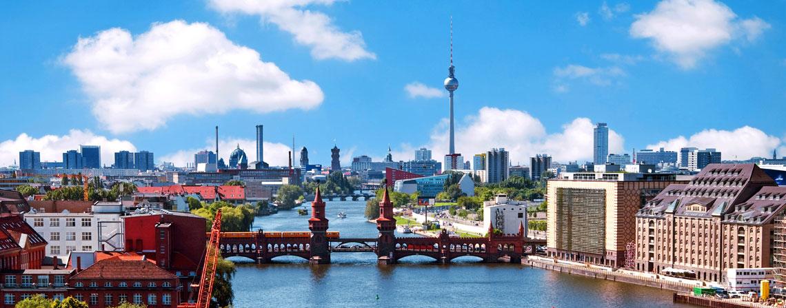 Näkymä Berliiniin. Kuva: totalpics/iStockphoto