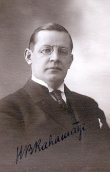 Hugo Bernhard Rahamägi oli Viron luterilaisen kirkon piispana 1934–1939. Kuva: Wikimedia Commons