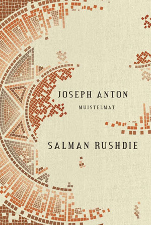 Salman Rushdien muistelmateoksen kansi. Kuva: WSOY