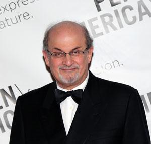 Salman Rushdie. Kuva: Ed Lederman/PEN American Center