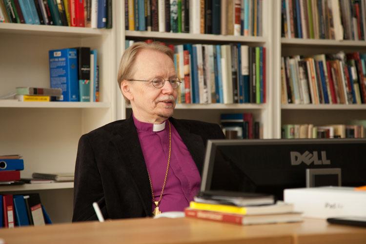 Arkkipiispa Kari Mäkinen. Kuva: Aarne Ormio/Kirkon kuvapankki