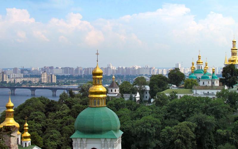 Maisema Kiovasta, Ukrainan pääkaupungista. Kuva: michaelaw/Freeimages