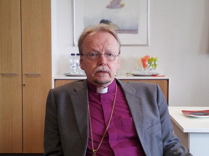 Arkkipiispa Kari Mäkinen. Kuva: Mikko Ketola