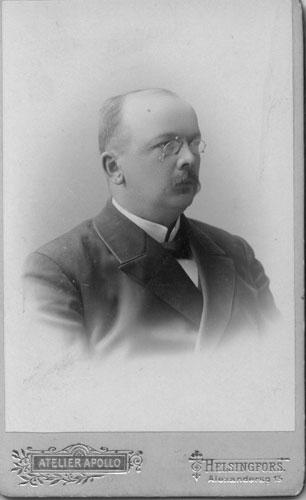 Arkkipiispa Lauri Ingmanin muotokuva. Kuva: Wikipedia