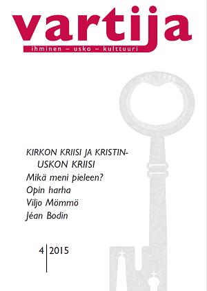 Vartijan 4/2015 kansi.