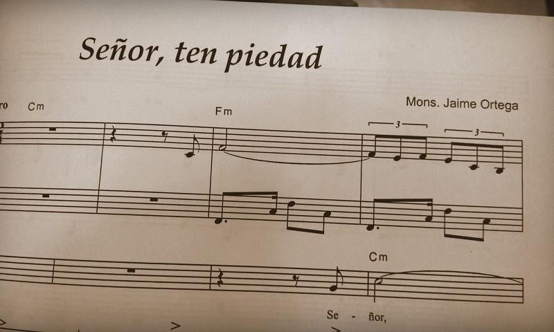 Kardinaalin säveltämää musiikkia. Kuva: Petra Kuivala