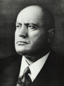 Simojoki ihaili Mussolinia. Kuva: Wikipedia.