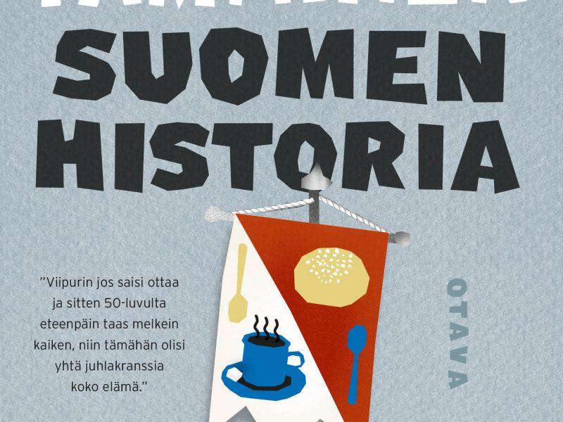 Petri Tamminen: Suomen historia. Kuva: Otava.