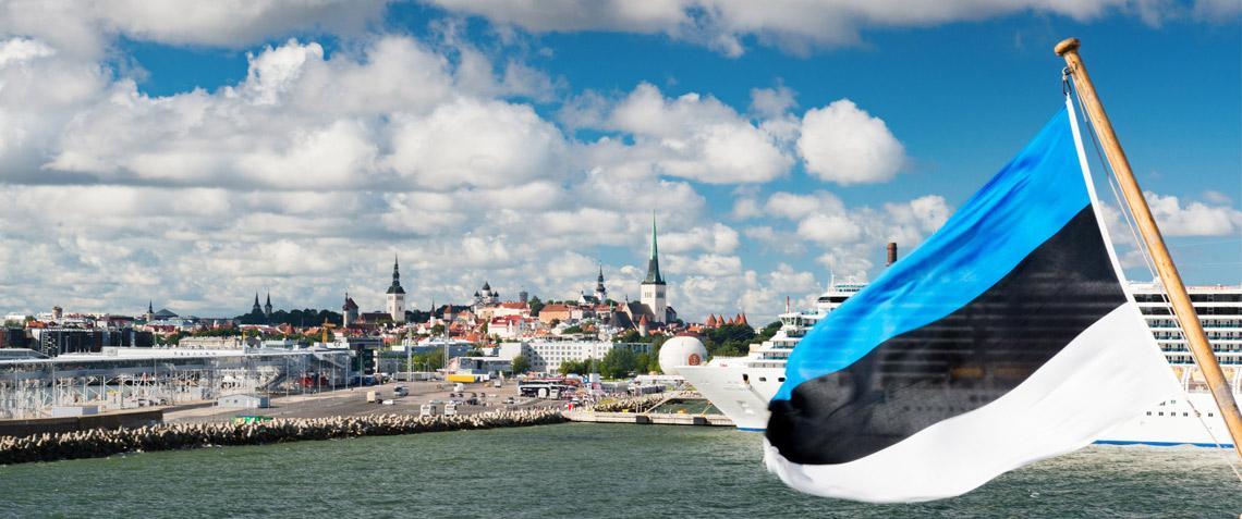 Näkymä Tallinnan satamaan. Kuva: dem10/iStockphoto.