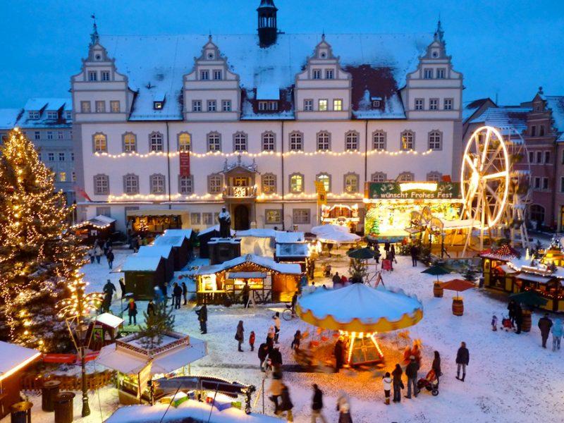 Joulumarkkinat Wittenbergissä