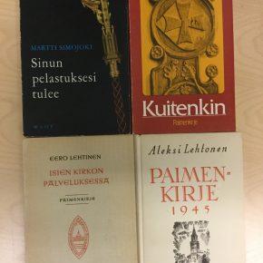 Entisten piispojen paimenkirjeitä. Kuva: Mikko Ketola.