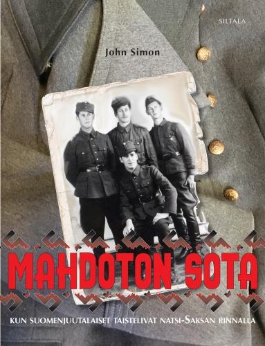 John Simon, Mahdoton sota. Kansikuva. Siltala.