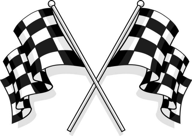 Racing flag. Kuva: Clipart.