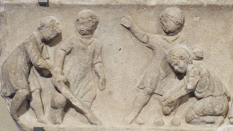 Lapsia roomalaisessa taiteessa 100-luvulta.