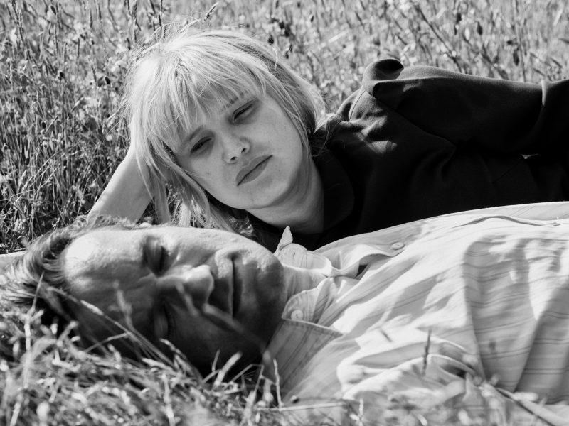 Joanna Kulig ja Tomasz Kot Cold War- elokuvassa.