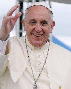 Paavi Franciscus. Kuva: Creative commons/Wikipedia.