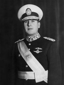 Juan Perón vuonna 1940. Kuva: Creative commons/Wikipedia.