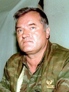 Kenraali Radko Mladić oli vastuussa Srebrenican surmatöistä. Kuva: Wikipedia/Creative Commons.