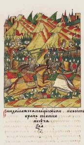 Kosovon taistelu 1389. Kuva: Wikipedia/Creative Commons.