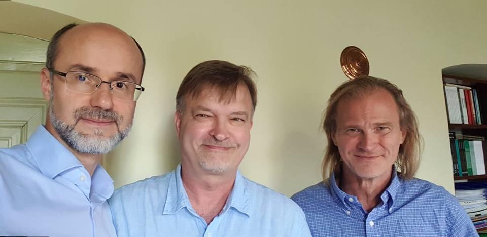Ahmet Alibašić, Mikko Ketola ja Matti Myllykoski. Kuva: Ahmet Alibašić.