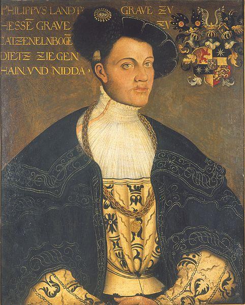 Hans Krellin maalaus Hessenin Filipistä vuodelta 1534. Kuva: Wikipedia.
