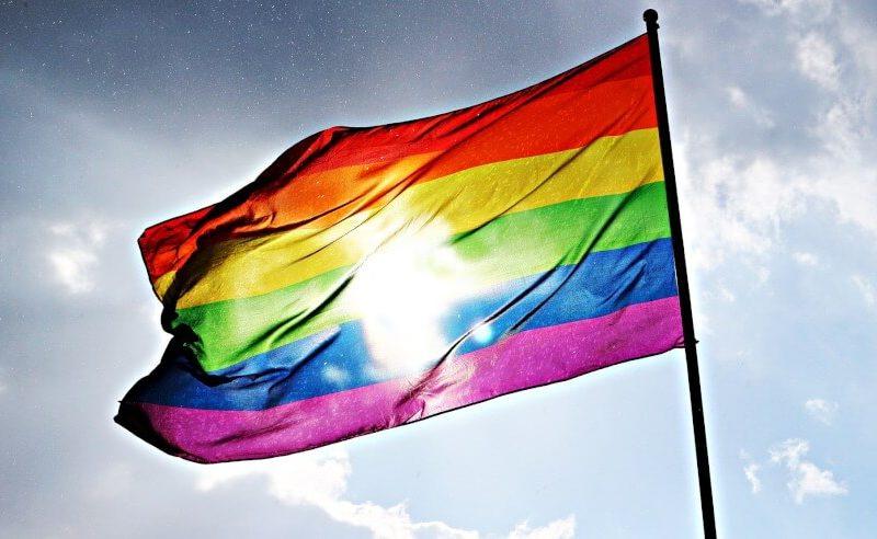 Gaypride-lippu. Kuvaaja tuntematon.