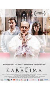 Juliste elokuvasta El Bosque de Karadima (Karadiman kirkko, Chile 2015).