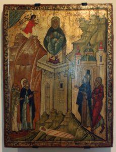 Simeon Styliitan ikoni 1600-luvulta. Kuva: Wikipedia.