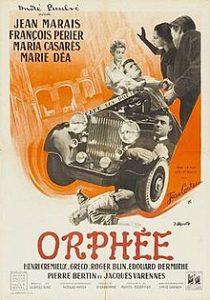 Jean Cocteaun Orfeuksen elokuvajuliste. Kuva: Wikipedia.
