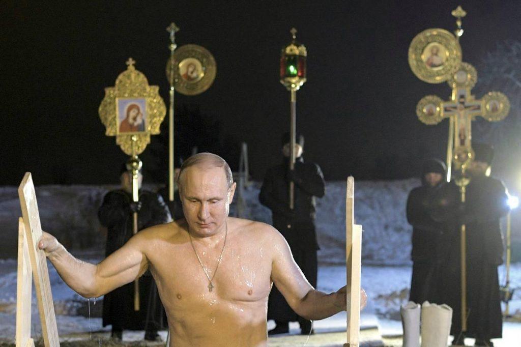 Venäjällä valtion ja ortodoksisen kirkon yhteydet ovat tiiviit.