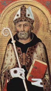 Augustinus (354-430). Kuva: Wikipedia.