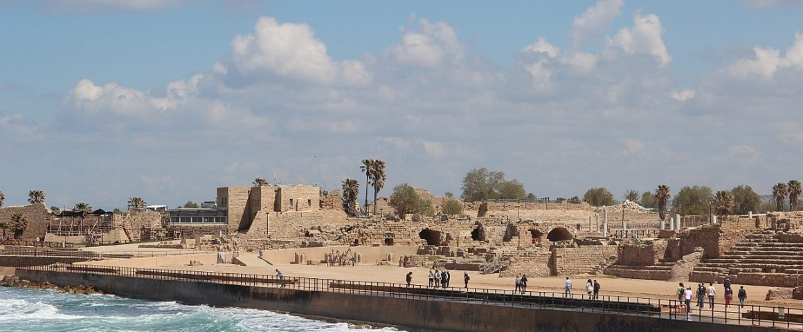 Caesarea Maritima. Kuva: Wikipedia.