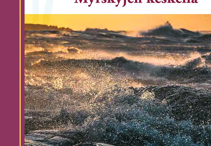 Ari-Pekka Palola: Myrskyjen keskellä. Kansikuva.
