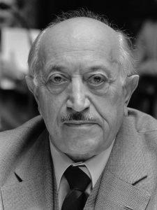 Natsien metsästäjä Simon Wiesenthal. Kuva: Wikipedia.