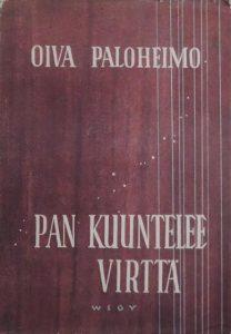 Oiva Paloheimon teos Pan kuuntelee virttä. Kansikuva.