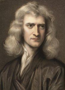 Sir Isaac Newton syntyi joulupäivänä 1642.
