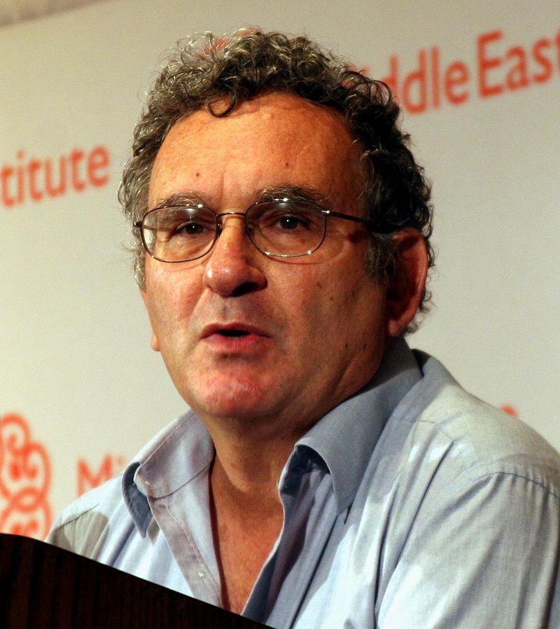 Israelilainen historioitsija Benny Morris. Kuva: Wikipedia.