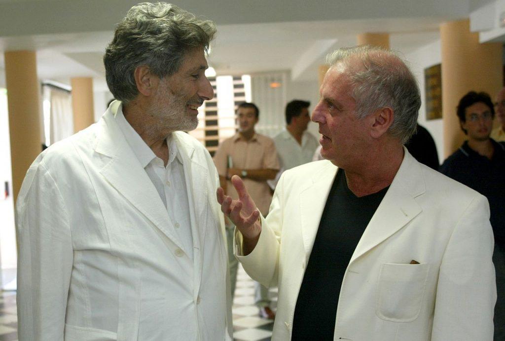 Edward Said ja Daniel Barenboim Sevillassa 2002. Kuva: Wikipedia.