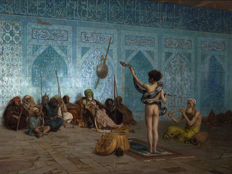 Kansikuva Edward Saidin teoksesta Orientalism.