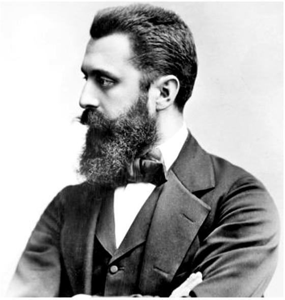 Modernin sionistisen liikkeen perustaja oli Theodore Herzl. Kuva: Wikipedia.