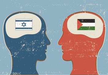 Israel ja Palestiina. Kuva lainattu sivustolta myjewishlearning.com.