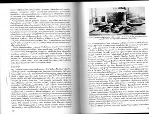 Votjakkien vakka ja muita pyhiä esineitä. Haavion suuresti arvostaman Uno Harvan teoksessa Finno-Ugric and Siberian Mythology.