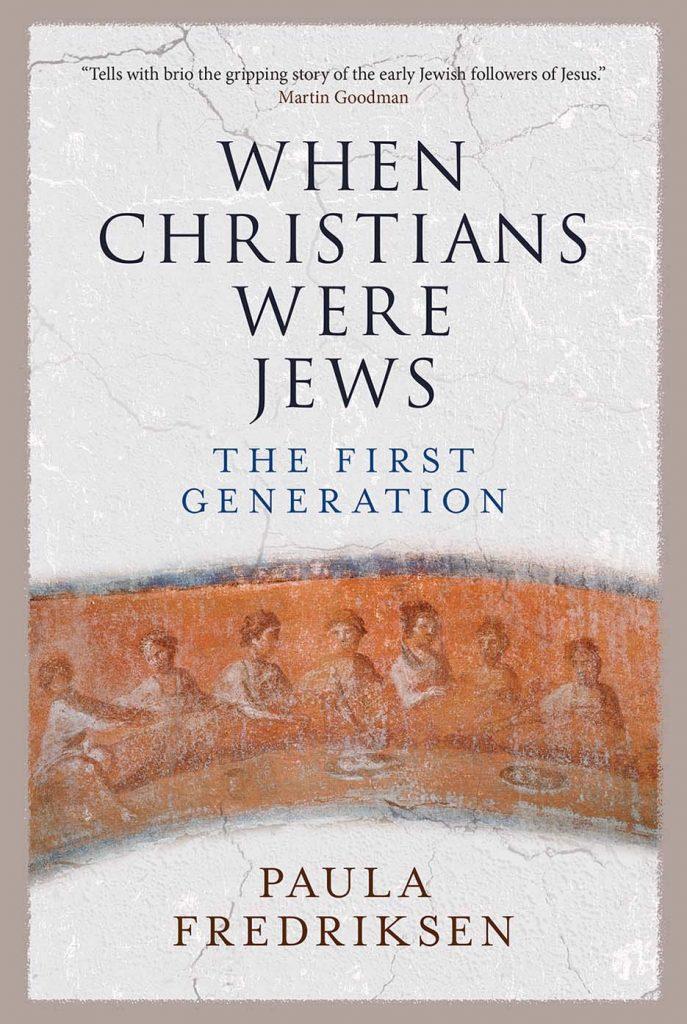 Juutalaisuuden ja kristinuskon suhteesta on kirjoitettu paljon. Tässä amerikkalaisen Paula Fredriksenin tutkimus.