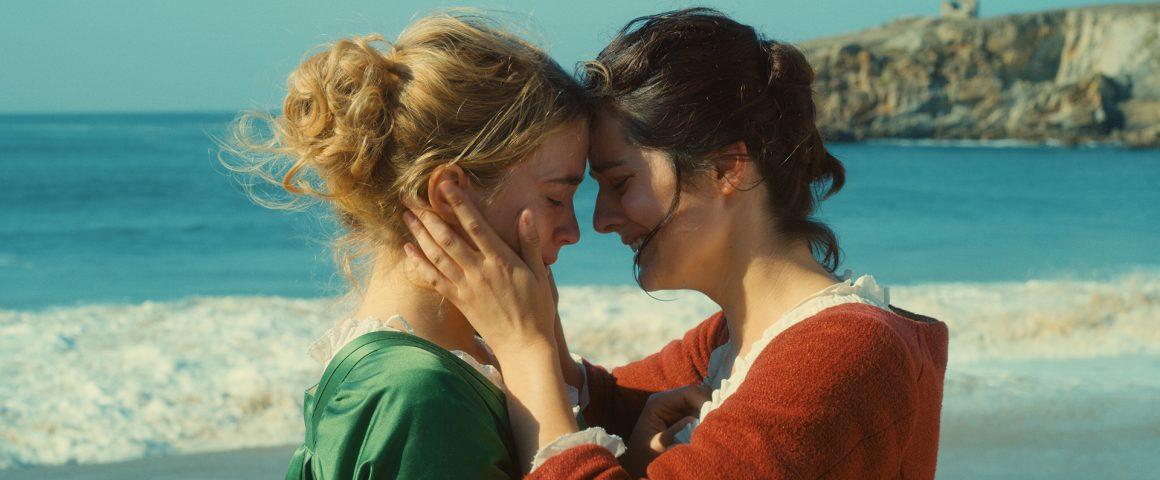 Héloïsea ja Mariannea esittävät Adèle Haenel ja Noémie Merlant. Kuva: Cinemanse.