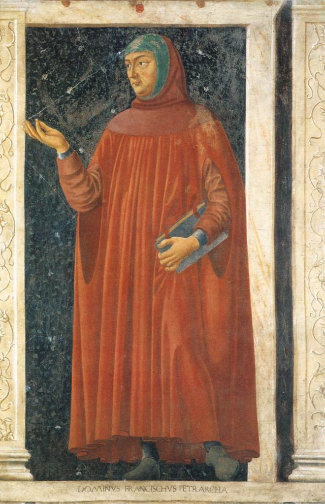 Francesco Petrarca. Kuva: Wikipedia.